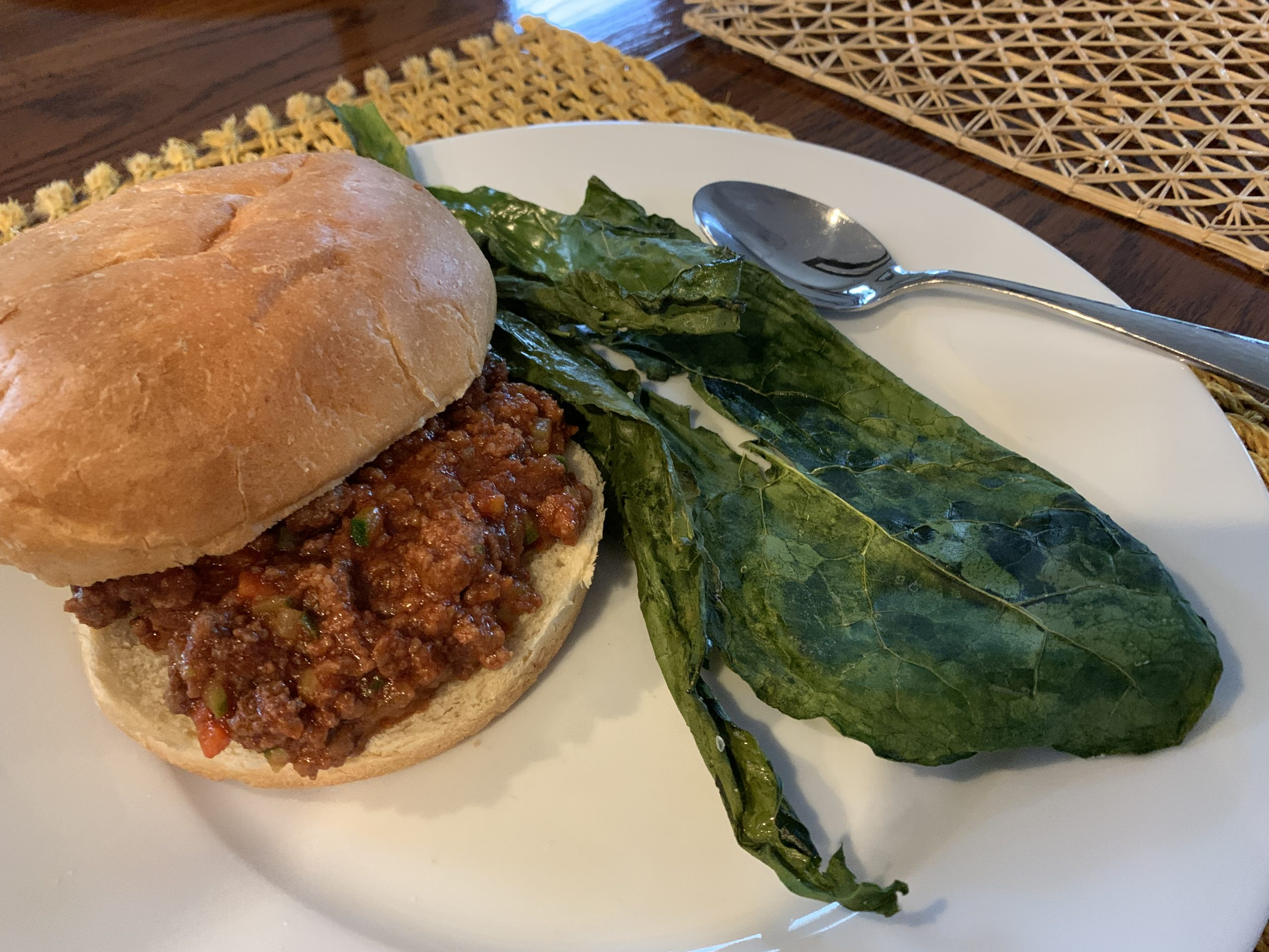Day 21. Healthy Sloppy Joes